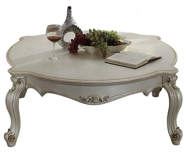 Acme Furniture Picardy Antique Pearl Coffee Table ACM-86880