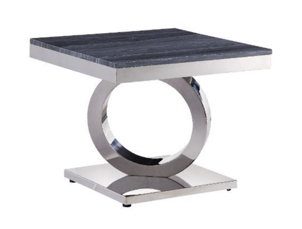 Acme Furniture Zasir Gray End Table ACM-87339