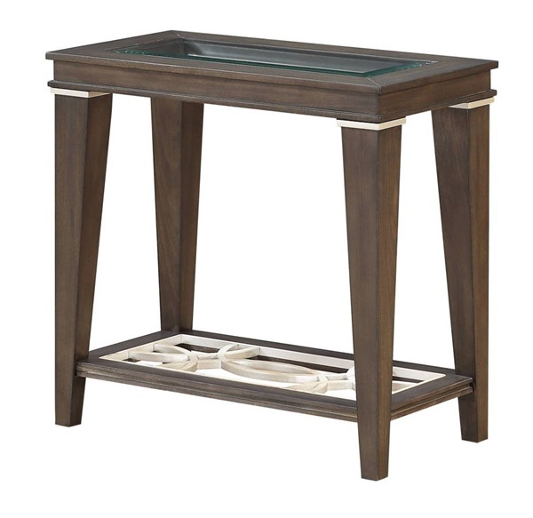 Acme Furniture Peregrine Walnut Side Table ACM-87993