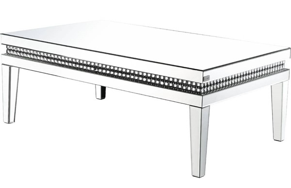 Acme Furniture Lotus Clear Coffee Table ACM-88050