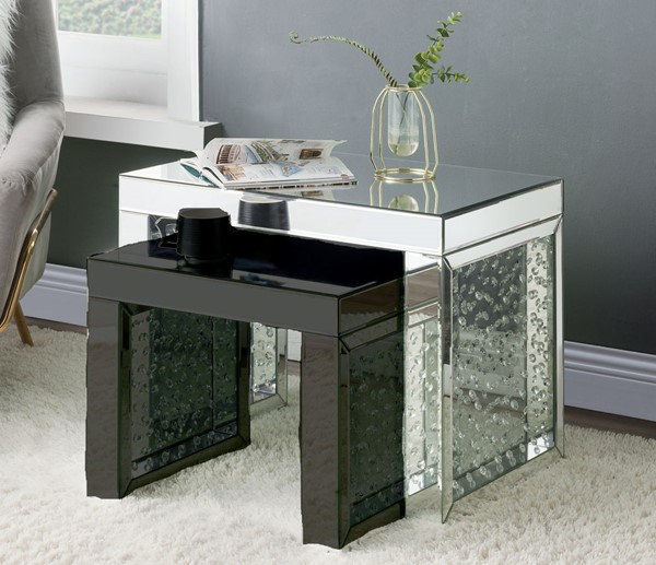 Acme Furniture Nysa Mirror Large Accent Table ACM-88065