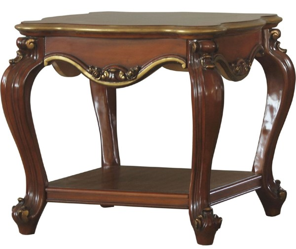 Acme Furniture Picardy Cherry Oak End Table ACM-88222