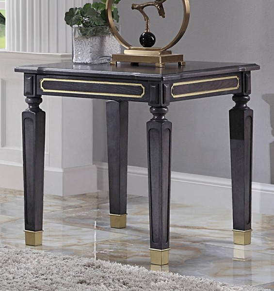 Acme Furniture House Marchese Tobacco End Table ACM-88862