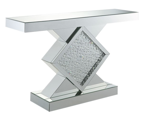 Acme Furniture Nysa Mirror Rectangle Console Table ACM-90068