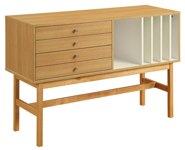 Acme Furniture Stania Natural Ivory Console Table ACM-90169