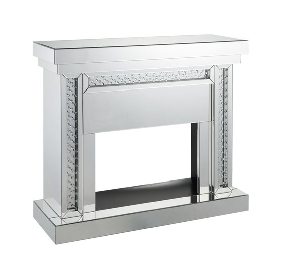 Acme Furniture Nysa Mirror Fireplace ACM-90272