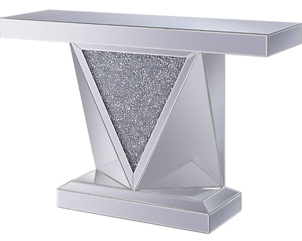 Acme Furniture Noralie Rectangle Solid Base Console Table ACM-90448