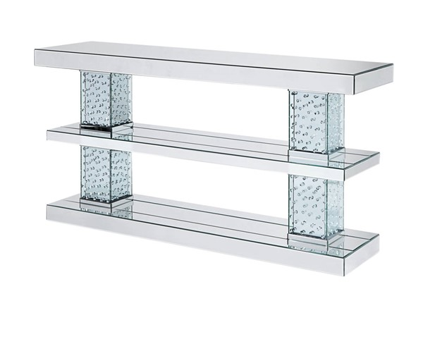 Acme Furniture Nysa Clear Console Table ACM-90460