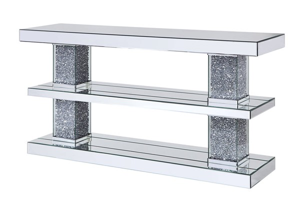 Acme Furniture Noralie Storage Shelf Console Table ACM-90462