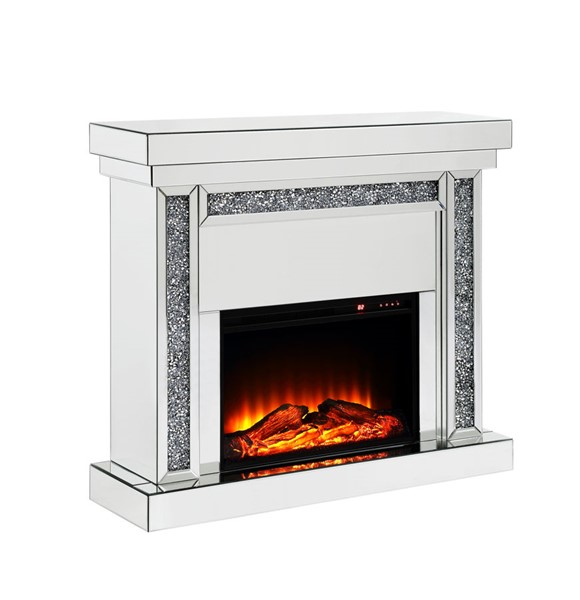 Acme Furniture Noralie Clear Fireplace ACM-90470