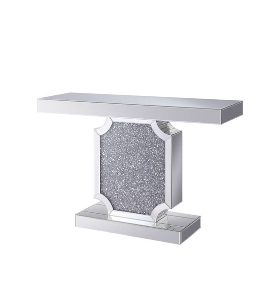 Acme Furniture Noralie Clear Console Table ACM-90475