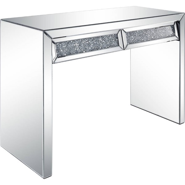 Acme Furniture Noralie Clear 2 Drawers Console Table ACM-90505