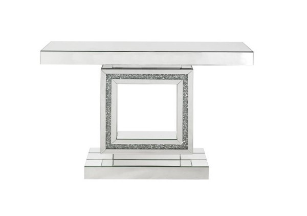 Acme Furniture Noralie Clear Rectangle Console Table ACM-90620
