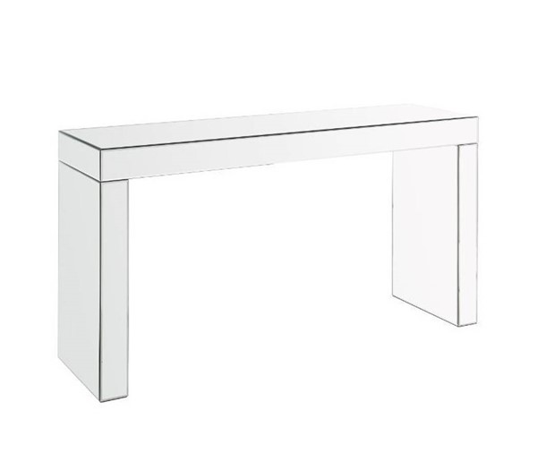 Acme Furniture Noralie Clear Rectangle Writing Desk ACM-90674