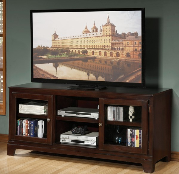 Acme Furniture Halden Merlot TV Stand ACM-91093