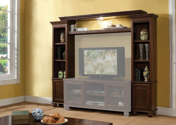 Acme Furniture Dita Walnut Entertainment Center ACM-91105