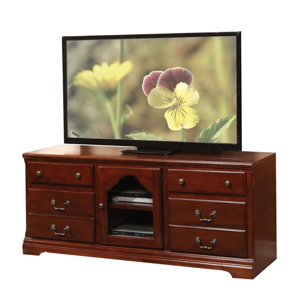Acme Furniture Hercules Cherry TV Stand ACM-91113