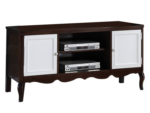 Acme Furniture Mathias White Walnut TV Stand ACM-91230