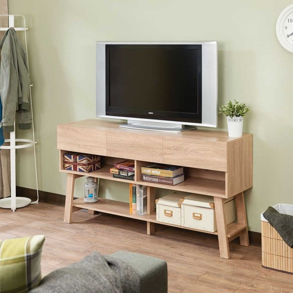 Acme Furniture Ariza Rustic Natural TV Stand ACM-91286