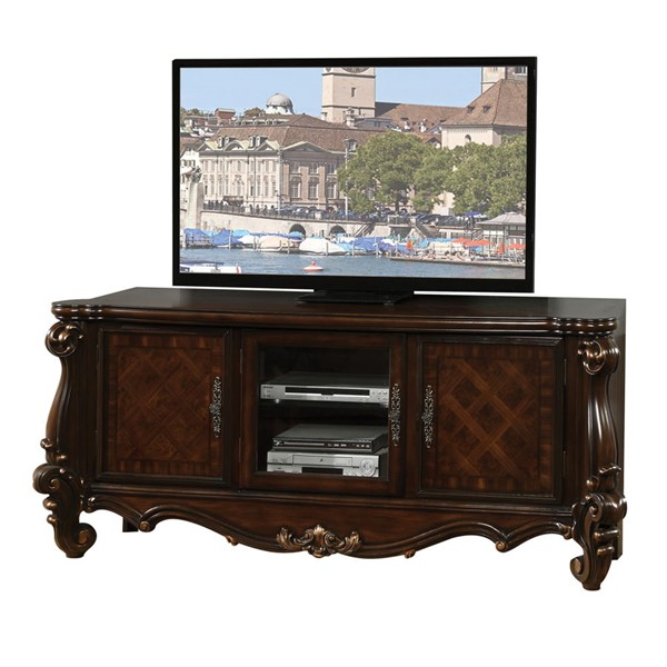 Acme Furniture Versailles Cherry Oak TV Console ACM-91329