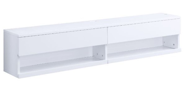 Acme Furniture Ximena White Floating TV Stand ACM-91345