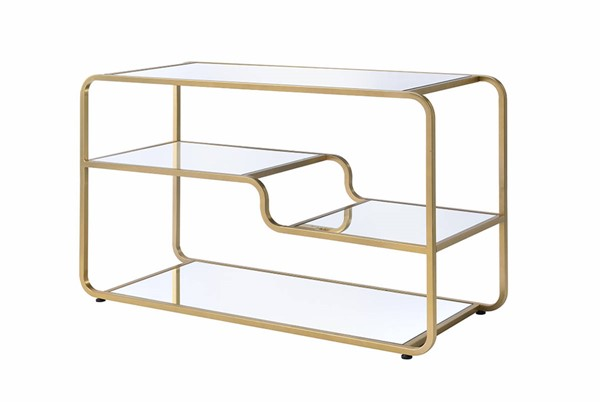 Acme Furniture Astrid Gold TV Stand ACM-91395
