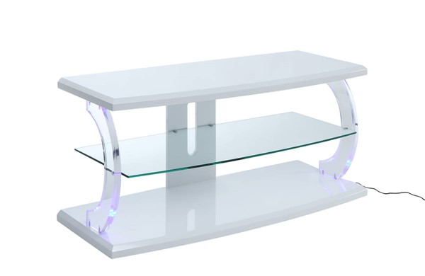 Acme Furniture Aileen White 48 Inch TV Stand ACM-91554