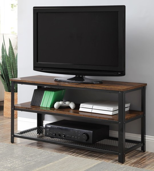 Acme Furniture Taurus Rustic Oak TV Stand ACM-91600