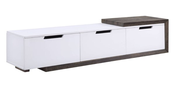 Acme Furniture Orion White High Gloss TV Stand ACM-91680