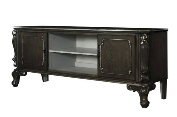 Acme Furniture House Delphine Charcoal TV Stand ACM-91988