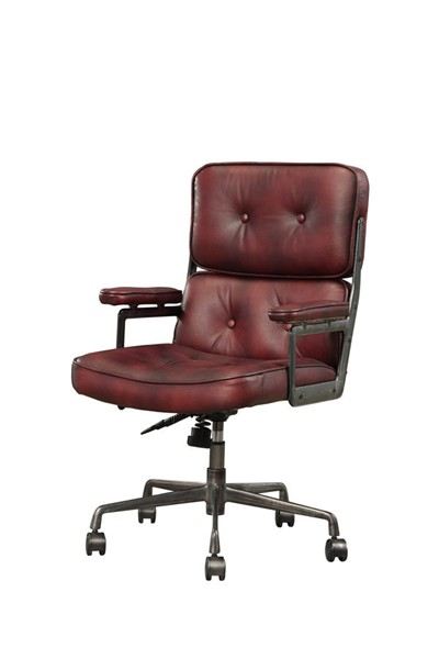 Acme Furniture Larisa Vintage Merlot Office Chair ACM-92027