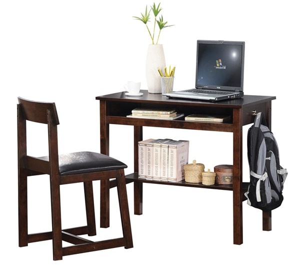 Acme Furniture Vester 2pc Desk and Chair Set ACM-92044