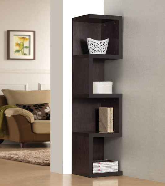 Acme Furniture Carmeno Espresso Large S Shelf Bookcase ACM-92068