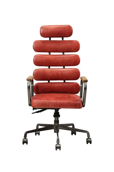 Acme Furniture Calan Vintage Red Office Chair ACM-92109