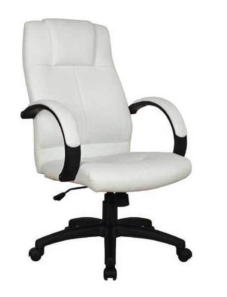 Acme Furniture Basil White Pneumatic Lift Office Chair ACM-92171