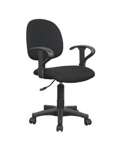 Remi Black Fabric Pneumatic Lift Office Chair ACM-92175