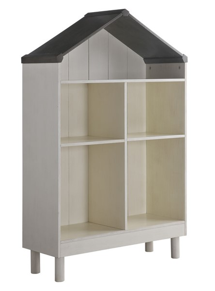 Acme Furniture Doll Cottage White Gray Bookshelf ACM-92224