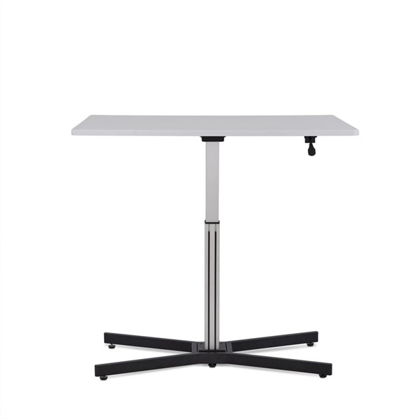 Acme Furniture Inscho White Desk with Lift ACM-92354