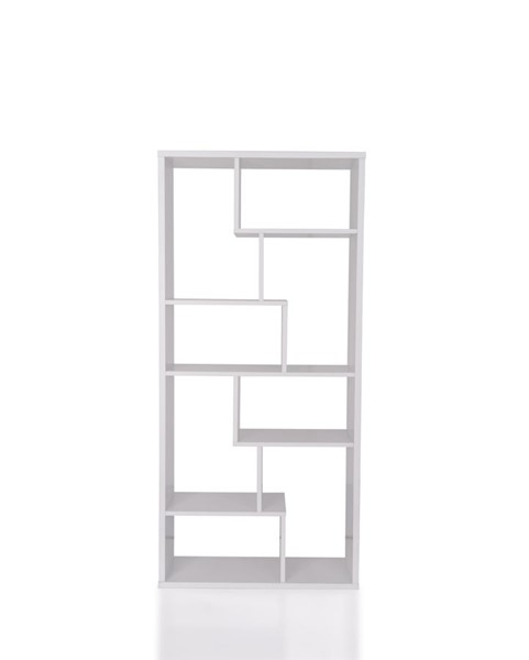 Acme Furniture Mileta II White Bookshelf ACM-92356
