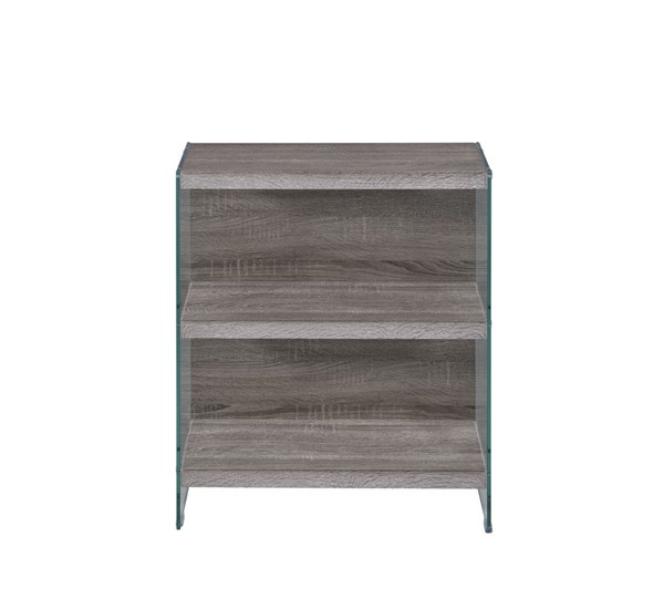 Acme Furniture Armon Gray Oak Bookshelf ACM-92374