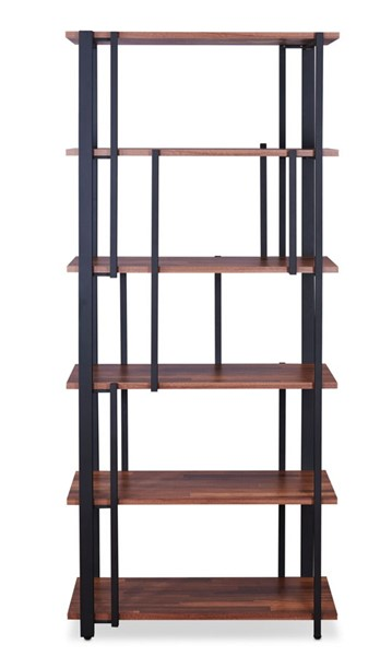 Acme Furniture Sara Sandy Black Bookshelf ACM-92406