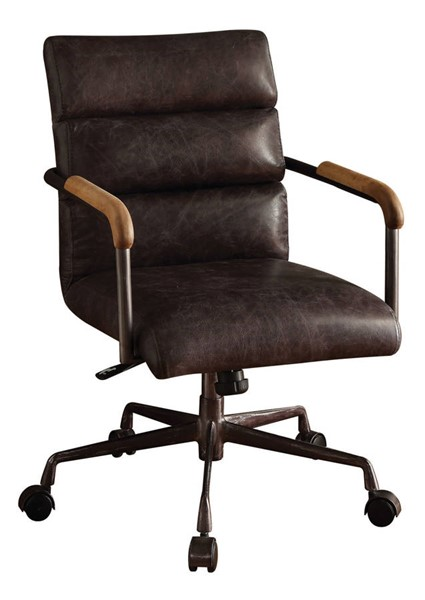 Acme Furniture Harith Antique Slate Executive Office Chair ACM-92415