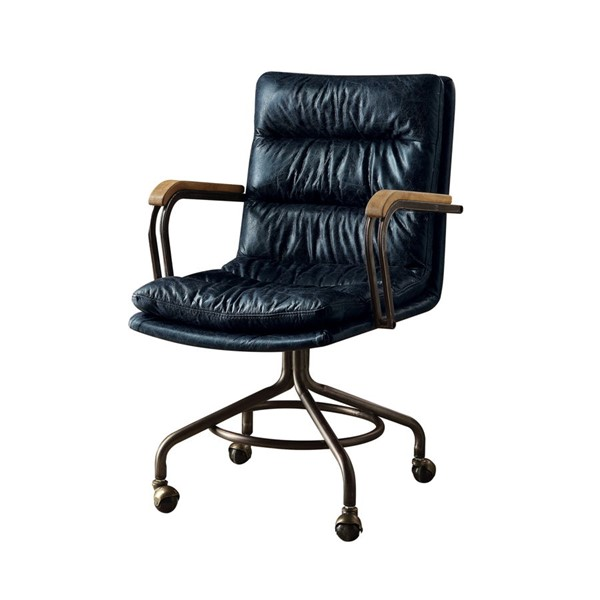 Acme Furniture Harith Blue Executive Office Chair ACM-92417