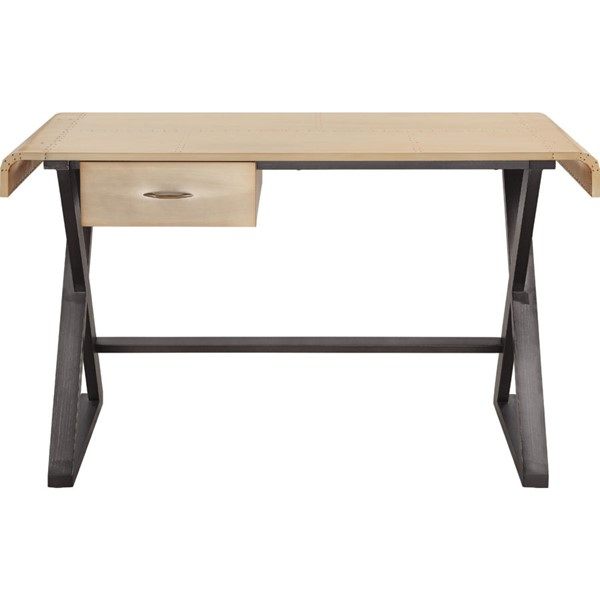 Acme Furniture Danton Gold Desk ACM-92424