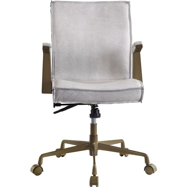 Acme Furniture Attica Vintage White Executive Office Chair ACM-92484
