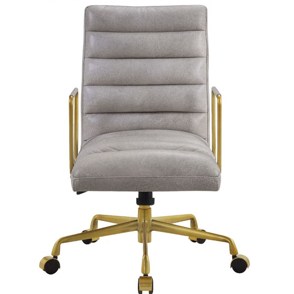 Acme Furniture Bellville Vintage White Executive Office Chair ACM-92497
