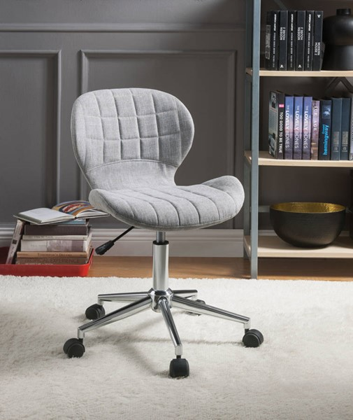 Acme Furniture Nepeta Light Blue Office Chair ACM-92510