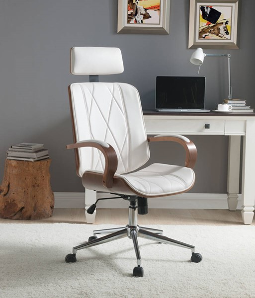 Acme Furniture Yoselin White Office Chair ACM-92513