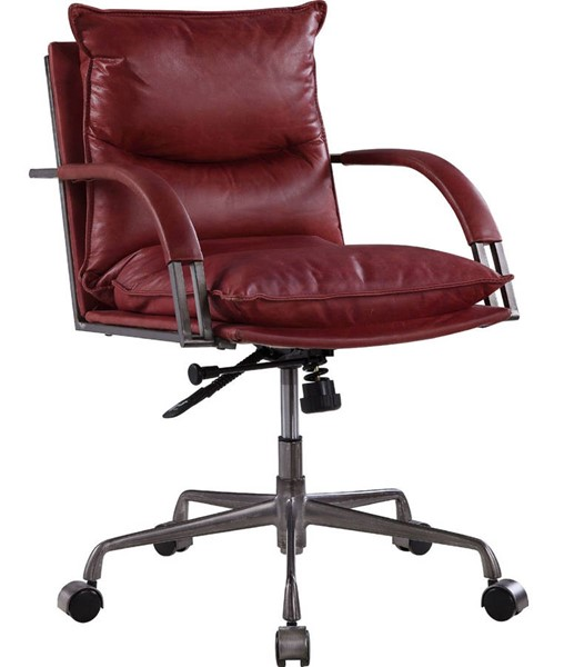 Acme Furniture Haggar Red Executive Office Chair ACM-92536