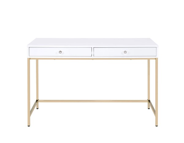Acme Furniture Ottey White Desk ACM-92540